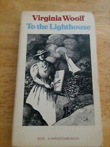 To the Lighthouse by Virginia Woolf (1955, Paperback) Very Good Condition