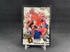 1992-93 FLEER BASKETBALL MICHAEL JORDAN #5 TOTAL D INSERT CHICAGO BULLS