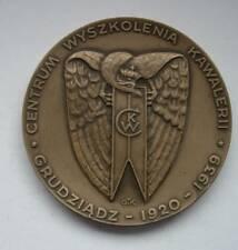 POLISH POLAND  WWII CAVALERY 1920 1989 ULAN commemoreative medal