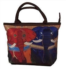 Elephant Handbag- Small Purse -From my Original Painting, Pride
