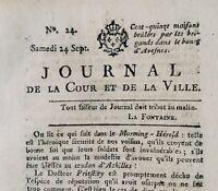Avesnes en 1791 Obernheim Club des Jacobins Beauharnais Révolution Royaliste