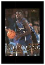1997-98 FLEER BASKETBALL ROOKIE #322 GOD SHAMMGOD WASHINGTON WIZARDS PROVIDENCE