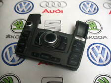 AUDI A6 C6 MMI CONTROL PANEL SATNAV RADIO SWITCH GREY RHD 4F2919610Q 4F0910609E