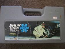 SHUR GRIP SNOW SECURITY TIRE CHAINS 155-14 165-13 175/70-13 75-13 80-13 6.45-13