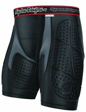Mens Troy Lee Designs Protection Black Shorts Outer Thigh Pads Size XLarge My16