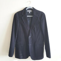 Kenneth Cole Reaction Men's Blazer Jacket Black Cotton Corduroy Small $248