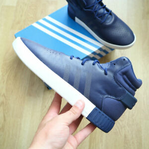 Adidas Tubular Invader Hi Top Boots Shoes Navy Blue S81793 size 5.5, EUR 36.5