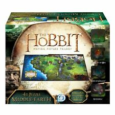 Hobbit Lotr Lord of the Rings Middle Earth 4D Puzzle Tolkien Jigsaw New Sealed