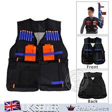UK Tactical Vest Kit For Stock Quick Reload Clips & Bullets Darts For Nerf Guns
