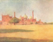 INDIA. Yamuna Masjid 1905 old antique vintage print picture