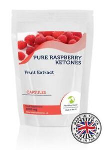Raspberry Ketones Fruit Extract 1000mg Capsules