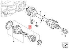 Genuine BMW E30 Rear Outer Drive Shaft CV Boot Repair Kit  OEM 33219067815