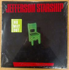 Jefferson Starship Nuclear Furniture 1984 SEALED USA LP W/ HYPE STICKER