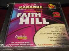CHARTBUSTER 6+6 KARAOKE DISC 20425 FAITH HILL VOL 2 CD+G COUNTRY MULTIPLEX