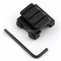 20mm 3 Slot Tactical Low Rise Riser Weaver Picatinny Rail Scope Sight Mount 1/2""