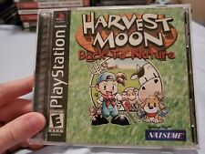 Harvest Moon: Back to Nature - PS1 Playstation1- Complete CIB near mint