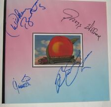 Allman Brothers Signed Eat A Peach Lp Gregg Allman Dickey Betts Jaimoe Trucks !