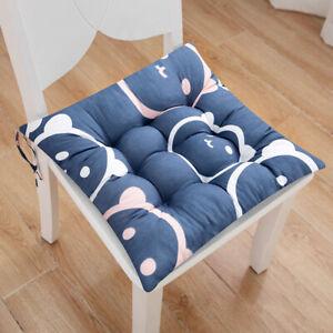40/45cm Cotton Square Stool Cushions Thicken Soft Pad Office Chair Floor Cushion