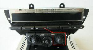 Genuine MINI Black CD / Radio Head Unit Right Knob Button for R56 R55 R60 LCI
