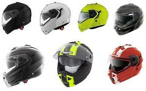Caberg Motorcycle Motorbike Duke II Road Crash Flip up Helmet
