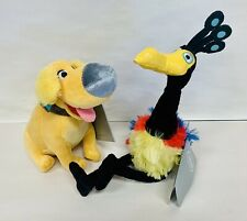 NEW Disney Store Authentic Up Dug & Kevin Plush with Tags!