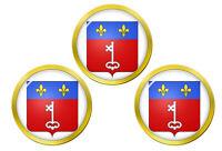 Angers (France) Marqueurs de Balles de Golf