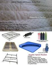 King Size 76/80 SOFTSIDE WATERBED WATER BED w/ MATTRESS