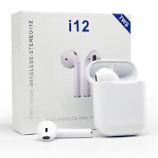 Bluetooth 5.0 Headset Wireless  Earbuds Touch Earphones in-Ear Headphones Mic