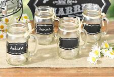 Set of 20 Chalkboard Glass Clings Wedding Bridal Shower Decoration