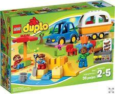 Lego Duplo 10602 Camping Caravan Barbecue Camp Site BNIB New Sealed FREE POSTAGE