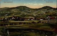 Bad Oppelsdorf Bogatynia Polen Postkarte ~1910/20 Gesamtansicht Häuser Hügel