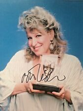 Bette Midler   SIGNED PHOTO 8 X10 GUARANTEED AUTHENTIC 3
