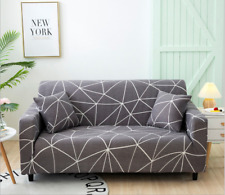 2/3 Seater Stretch Sofa Cover Printed Couch Covers Elastic Sofa Slipcovers