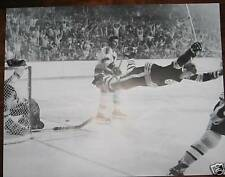"""Bobby Orr Scores to Give Boston Bruins The 1971 Stanley Cup Poster 16"""" x 20"""""""