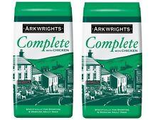 6Arkwrights Complete Dry Dog Food Chicken 15KG X2 (30KG) (VAT Free)