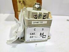 Hose Mccan Telephone Inc Magneto Generator Cfhm 119 Cat22