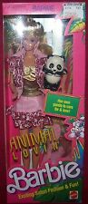 Mattel Animal Lovin Barbie Doll W/ Panda & Accessories Safari Fashion Fun NRFB