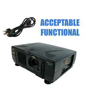 ViewSonic PJ1000 3LCD Projector - Acceptable Functional w/Power Cable