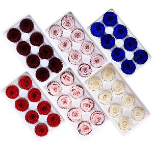 8PCS/SET PRESERVED FRESH-KEEPING ROSE FLOWER BIRTHDAY VALENTINES XMAS GIFT BOX