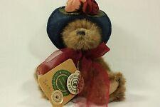 Boyds Bears Yvette Dubeary Plush Bear All Tags and ID EUC