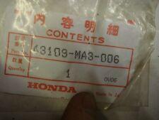 Honda. CB 400 750 900 ATC CM CBX 1000 GL 1200 CX 43109-MA3-006 DUST SEAL N.O.S