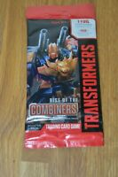 Sealed Transformers TCG: Rise of the Combiners Booster Pack New Transformers TCG
