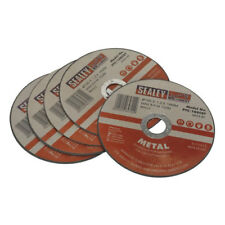 Sealey Metal Cutting Disc for Stainless Steel 100mm Pack of 5