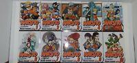 NARUTO Volumes 1-10 Shonen Jump Japanese Manga by Masashi Kishimoto (English)