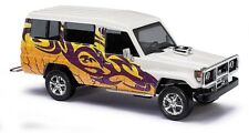 "Busch 43512 Toyota Landcruiser ""Crazy Cars"" HO Scale"