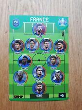 "Panini Euro 2020 Adrenalyn XL Carte ""Fans"" Line-up équipe de France XXL"