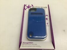 Speck Ipod Touch 5 KangaSkin Case Cobalt Blue