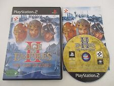 AGE OF EMPIRES II (2) THE AGE OF KINGS - SONY PLAYSTATION 2 PS2 PAL Fr COMPLET