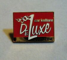 """CAR KULTURE DELUXE Magazine Hat or Hot Rod Jacket Pin (1"""" x 3/4"""")"""