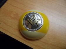 Masons 9 Ball Pocket Marker for shooting pool